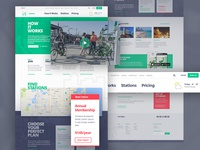 City Bikes on Subscription Website