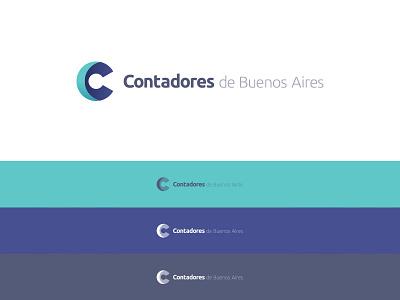 Contadores de Buenos Aires logogrid creative logo logodesign logotype logoinspiration