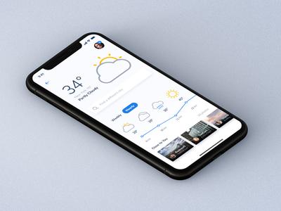 Sneak Peek - Weather App