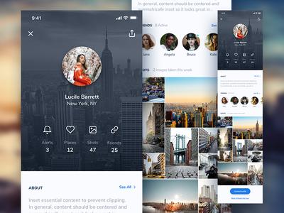 User Profile Screen - Weather App