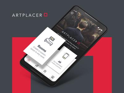 Art Placer. Mobile App Design