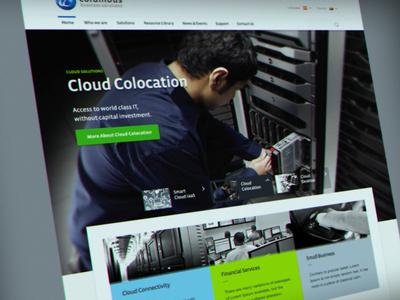 IT solutions provider website