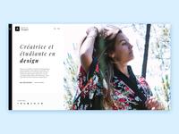 My new portfolio - Webdesign