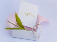 Business card jewelry brand