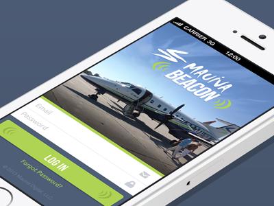 Mauivobile mobile login app