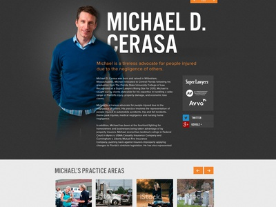 Bio Page marketing website ui