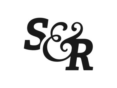 Sonder & Rise ampersand logotype typography logo