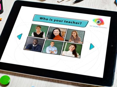 See Word Reading iPad App app educational ipad