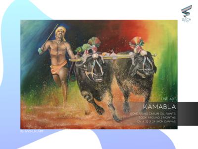 Kambala- Oil Paint