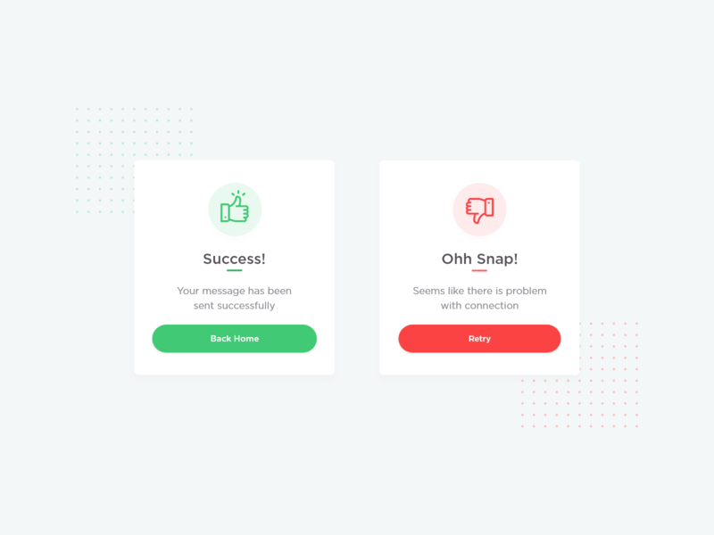 Daily UI Challenge Day 11 (Flash Message) daily 100 challenge mobile app design ui dailyui