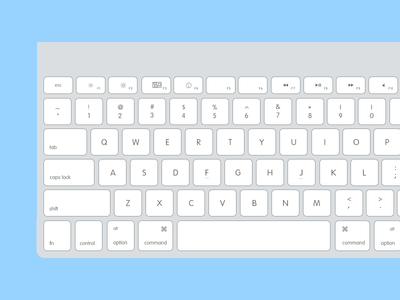 Flat Keyboard flat keyboard oktayelipek photoshop imac