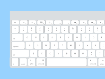 Flat Keyboard