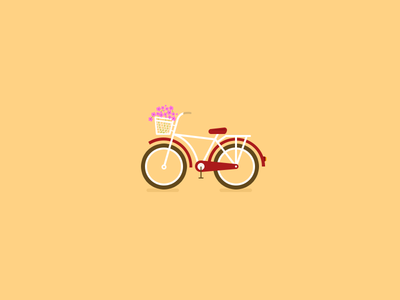 Bicycle bike bicycle mini unisex redbike