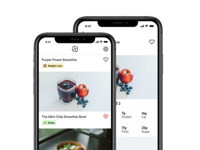 Exquisite Recipes mobile animation mobile app design recipes mobile mobile app app invitation concept design flat oktayelipek