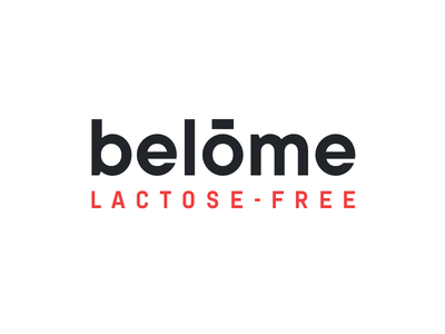Belome - Lactose Free Milk Product concept flat oktayelipek milkman milk carton belome branding milk