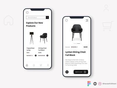 Product List UI Design uiux app figma mobile app ui app ui shopping app cart list product