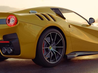Car render render sportcar cycles blender3d yellow kadasarva illustration