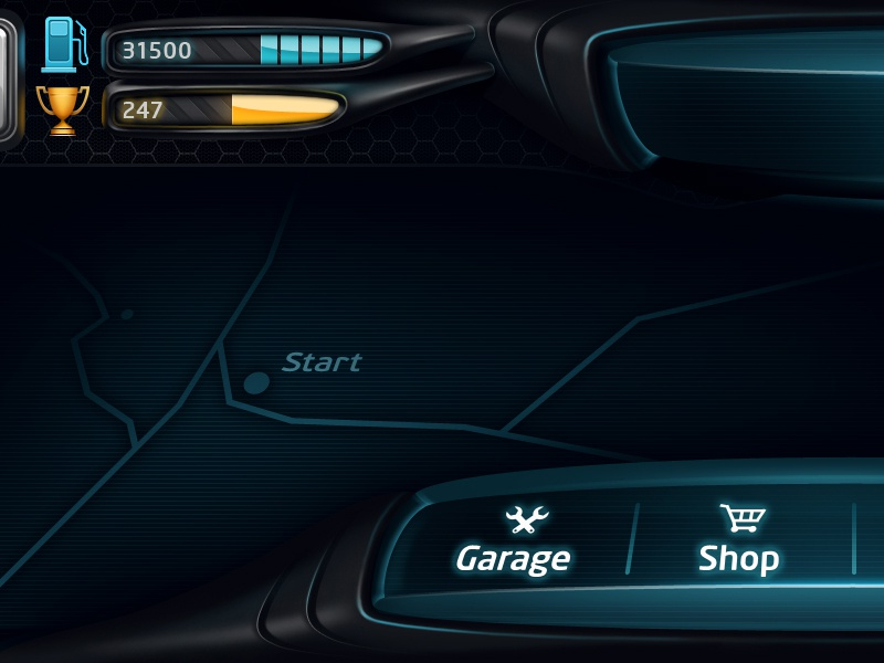 Race Interface 1 icon ui race game