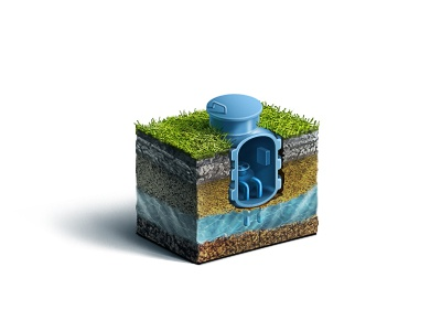 Water Well icon teaser water well