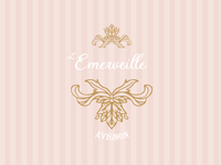 Logo for a candy shop