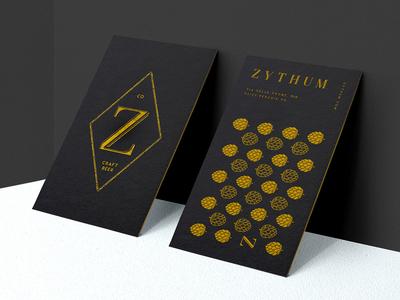 Zythum Beer logo design illustration branding beer egyptians