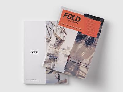 Fold - moleskine illustration typography branding magazine design moleskine issue design editorial magazine
