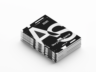 Storytelling Animal - Editorial graphic design art direction magazine design
