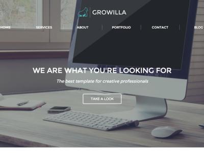 Growilla Creative Template