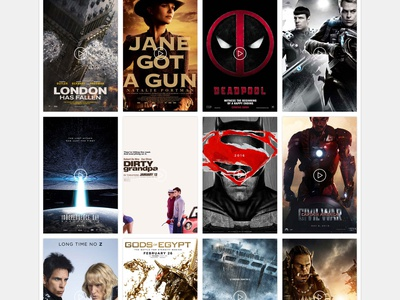 Trailerbots - Movie Trailers website trailers cards movies