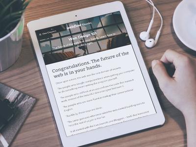 Webflow Ebook Design 101
