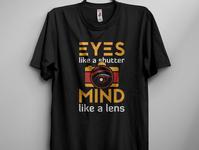 Eyes like a shutter  mind like a lens