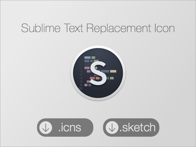 Final Round Sublime Icon sublime text sublime text 2 3 replacement icon yosemite round ocean base16