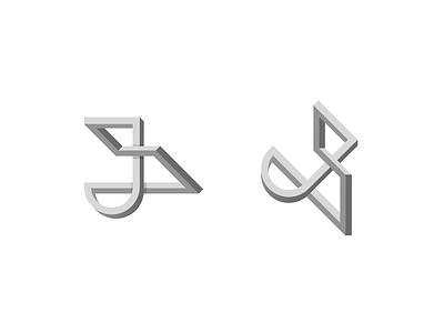 Personal Logo Initials personal logo initials escher monument valley type