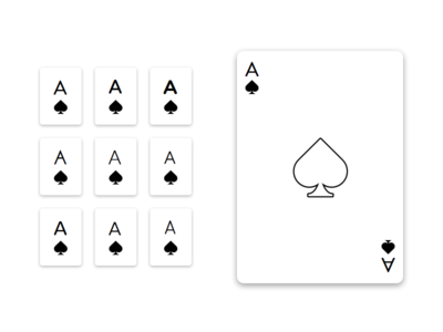 Simple Playing Card Styles