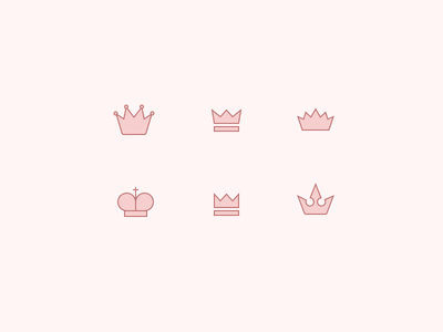 Icon Exploration for Playing Cards card icon bishop crown king hat
