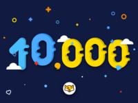 Congratulations MBE 10000 followers mbe congratulation