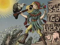 Sad Go Lucky Cover