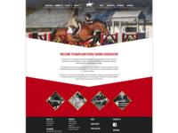 Maryland Horse Shows Association website