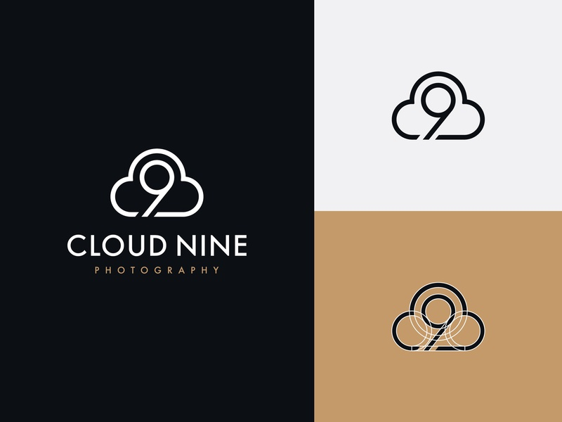 Cloud Nine Photography brand design logo design photography studio
