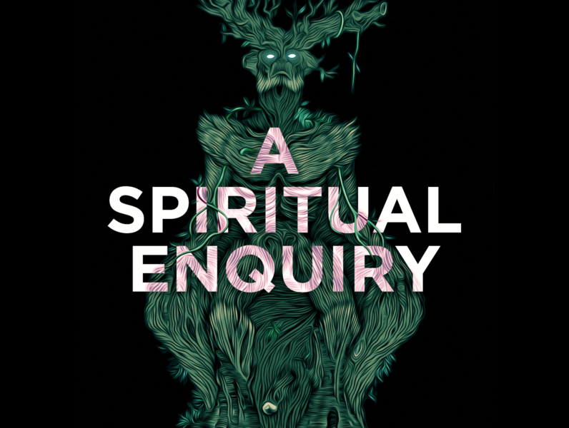 A Spiritual Enquiry character design album art