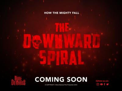 The Downward Spiral Film Teaser Poster