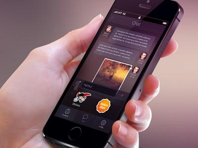 Dark style app