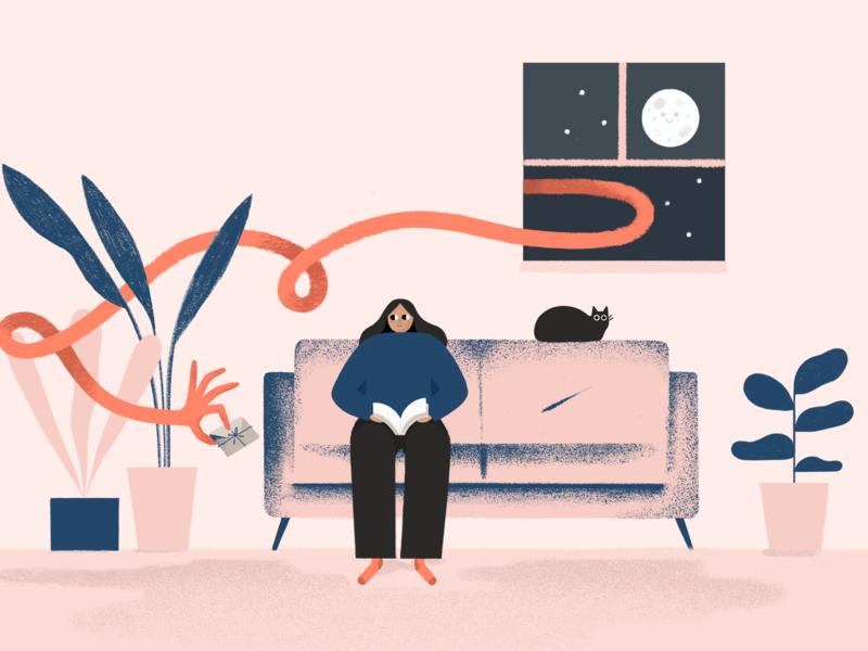 Reaching the right consumer in their home! digitalmarketing sampling marketing design othermaria illustration art illustrator procreate illustration