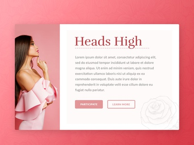Heads High Roses