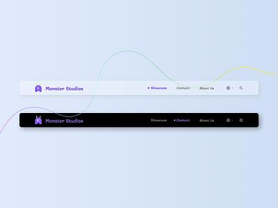 #DailyUI 53: Header Navigation dailyui053 dailyui53 053 navigation header ui webdesign dailyui figma design