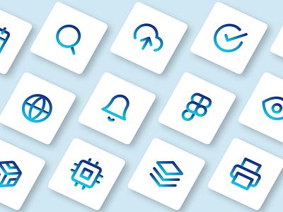 #DailyUI 55: Icon Set 055 dailyui055 dailyui55 icon iconset app webdesign ui dailyui figma design