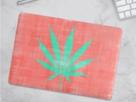 Distressed Sativa Macbook