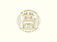 2nd Arrondissement Badge