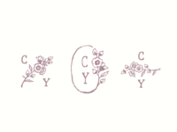 Flower logo options