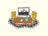 Interior Ilustration